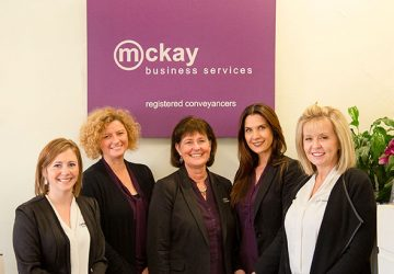 The team at Mckay Business Services, Adelaide Conveyancing